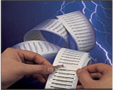 耐高溫抗靜電標籤